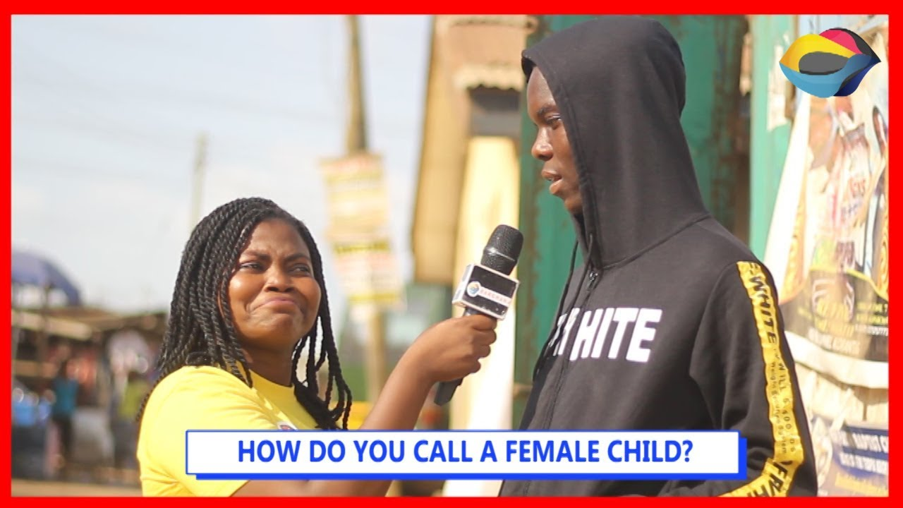 How Do You Call A Female Child? | Street Quiz | Funny Videos | Funny African Videos | African Comedy