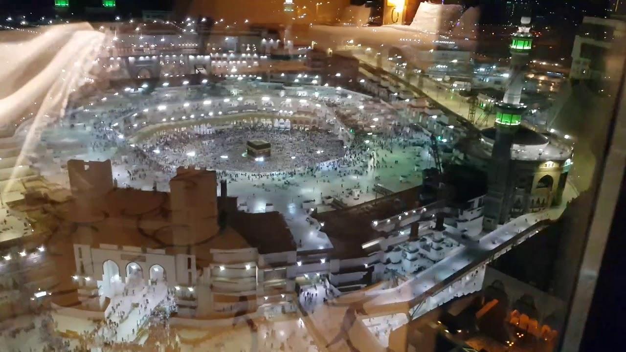 Haram Kaaba View Alsafwa Hotel Makkah Youtube