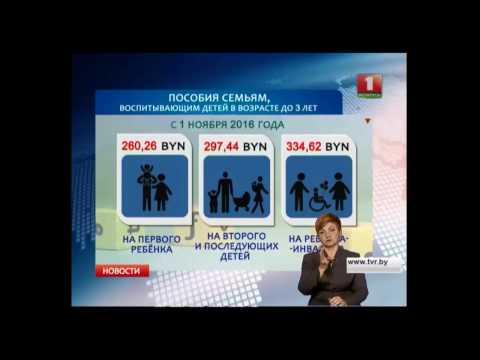 В Беларуси меняются размеры бюджета прожиточного минимума и детских пособий