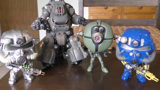 New 2018 Fallout funko pop Vinyl Set  Unboxing and Review
