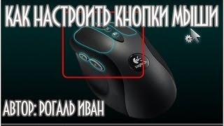 Як налаштувати мишку і кнопки миші
