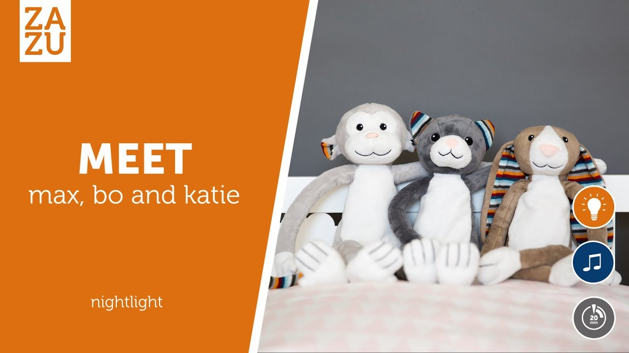 KATIE Soft Toy Nighlight ZAZU