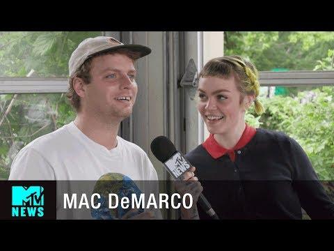 Mac DeMarco Talks Maturing & Keeping Fans Safe | Governors Ball | MTV News