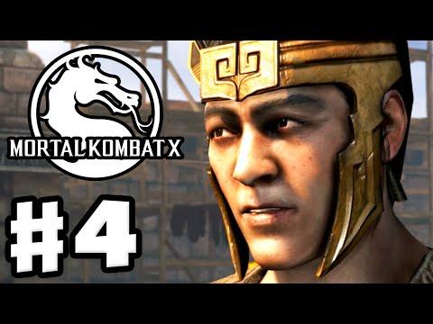 Mortal Kombat X - Gameplay Walkthrough Part 4 - Chapter 4: Kung Jin (PC, PS4, Xbox One)