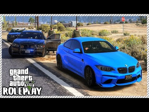 GTA 5 Roleplay - Police Chase After Felony Speeding | RedlineRP #384