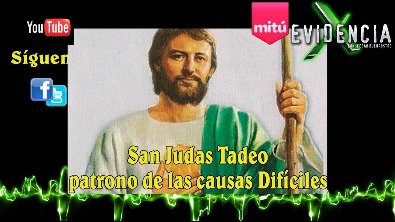Historia De San Judas Tadeo Datos Que No Conocías Evidencia X