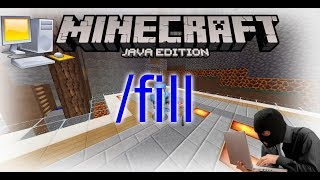 Aprende a construir mas rápido en Minecraft con COMANDOS | /fill SENCILLO!