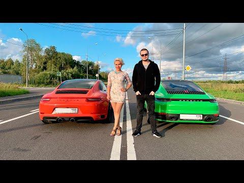 Porsche 992. VS Porsche 991. 1/4, 0 - 100, 100 - 200. Bulkin оценил!