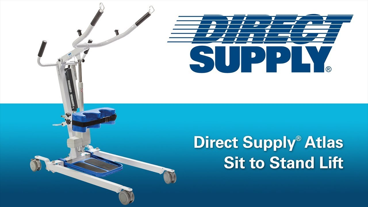 Atlas Sit To Stand Lift From Direct Supply Youtube