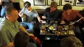 Irish Folk Session,Tigh Ruairí, Inis Oirr, Craiceann Bodhrán festival 2010