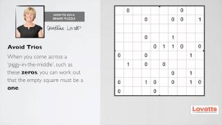 How To Do a Binary Puzzle