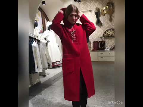 Кашемировое пальто из новой коллекции