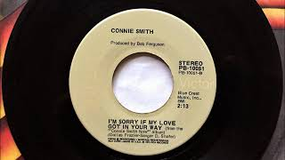Im Sorry If My Love Got In Your Way , Connie Smith , 1971 YouTube Videos