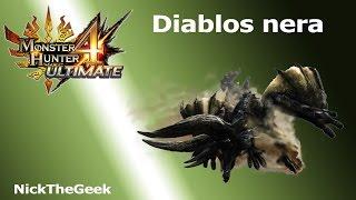 Monster Hunter 4 Ultimate gameplay ITA MH4U - 133 - Diablos nera (G2)
