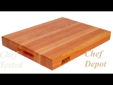 What is the best way to clean a wood cutting board