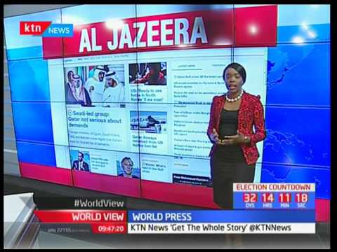 World Press : News making headlines in Africa