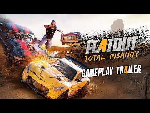 flatout 4 total insanity gameplay trailer pc ps4 xbox one youtube. Black Bedroom Furniture Sets. Home Design Ideas