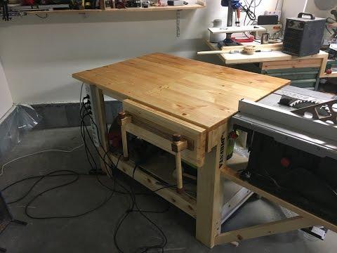 DIY : Homemade Moxon vise / Bench vise
