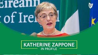 Katherine Zappone in profile