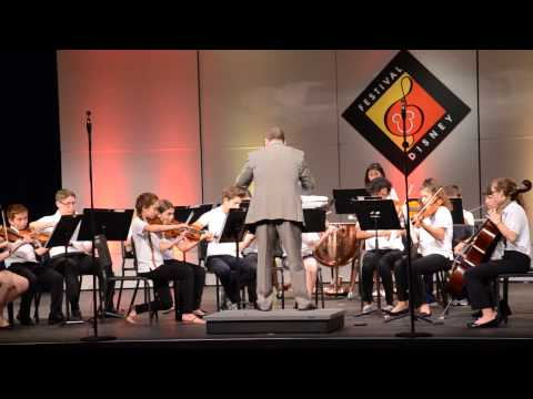 The Community School of Naples at Festival Disney: Marriage of Figaro Overture by W.A. Mozart