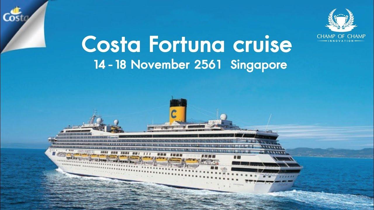 CCI Costa Fortuna cruise  Singapore