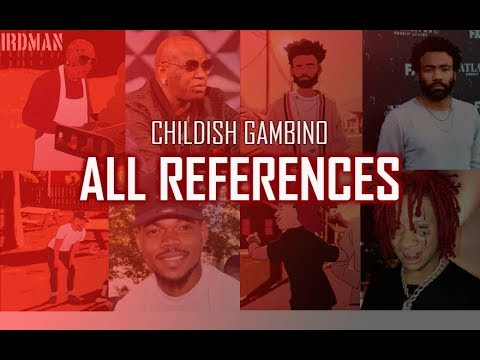 Childish Gambino - Feels Like Summer ALL REFERENCES And Meaning