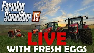 Fresh Eggs! Live on Chellington Challenge @ 16:00