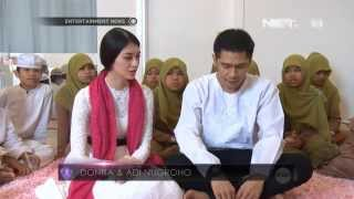 Entertainment News-Donita syukuran bersama anak yatim