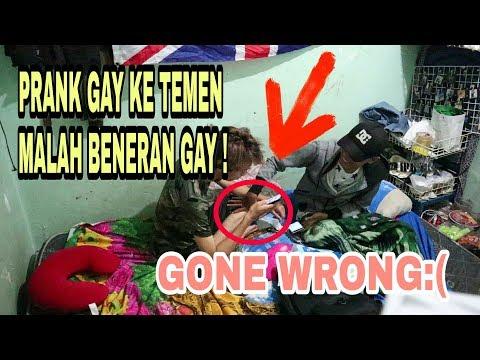 GAY PRANK! NYATAIN GAY KE TEMEN MALAH BENER GAY!!! (Ft Rahman Z)
