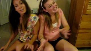 Dancing to SOS with Lauren