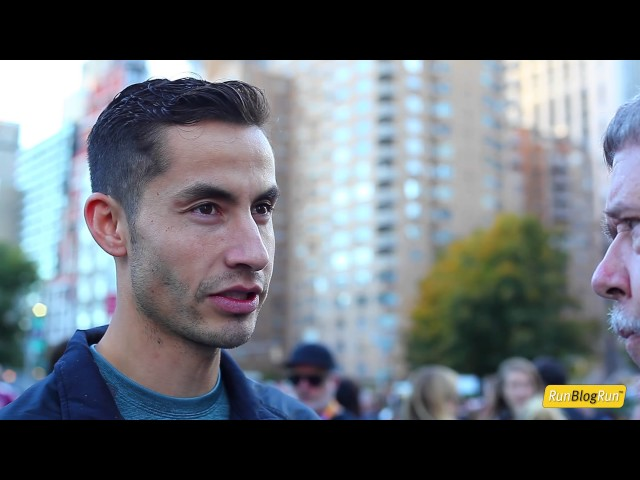Interview w/ Diego Estrada @ Girls on the Run in NYC