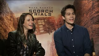 Maze Runner: Scorch Trials interviews - O