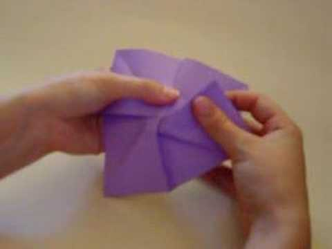 Papercraft Origami Rose Instructions