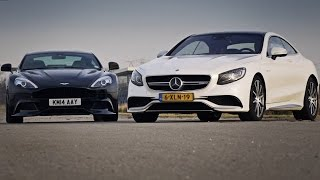 Mercedes S63 AMG vs Aston Martin Vanquish review