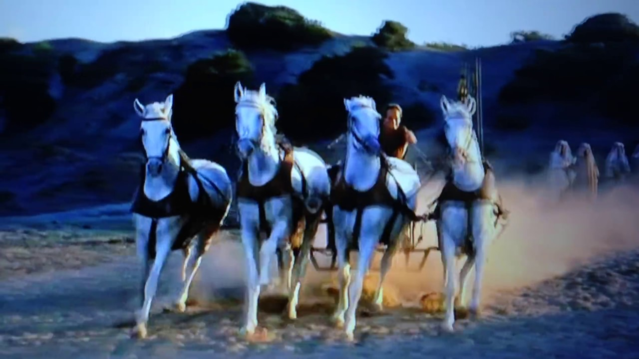 Ben-Hur- Horse racing practise - YouTube