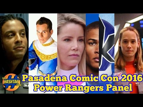 Power Rangers Panel | Pasadena Comic-Con 2016 | Morphin' Monday