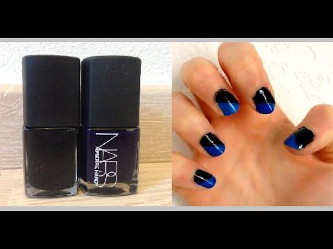 Tuto Nail Art Ongles Diagonale Débutant Facile Céline