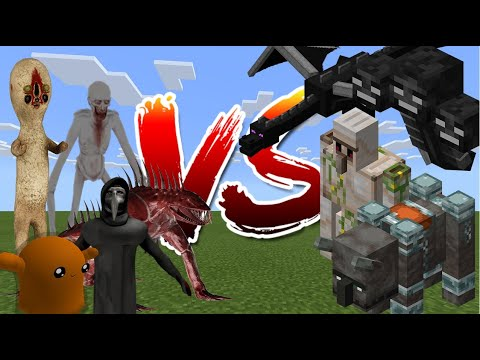SCP Foundation Vs Minecraft