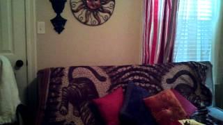 Lynette's massage room