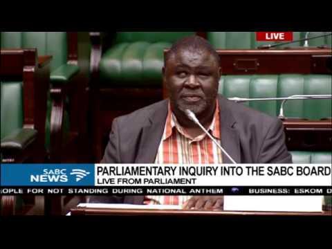 Parliament SABC Board Inquiry: Prof Mbulaheni Maguvhe