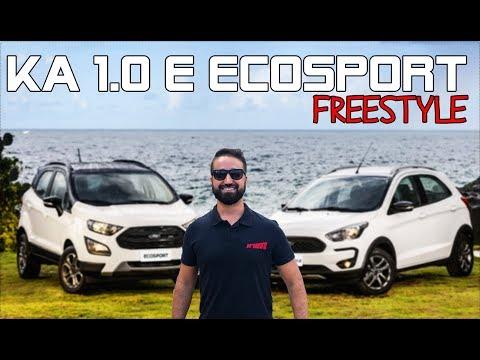 FORD NOVO KA 1.0 E ECOSPORT FREESTYLE 2020: SAIBA TUDO QUE MUDOU/ Vrum Brasília