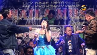 HARUSKAH BERAKHIR voc.  windy - NAILA MUSIC Live Wlahar 09 April 2017