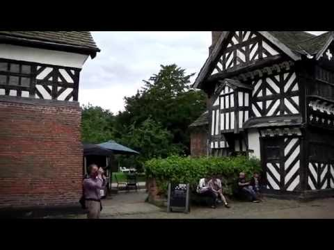 Little Moreton Hall, Cheshire - inside and outside