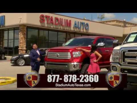 Stadium Auto Infomercial