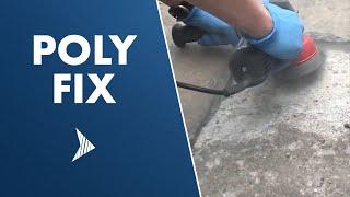 Poly Fix -  Concrete Repair Binder - Healer - Mender - for Cracks & Spalls