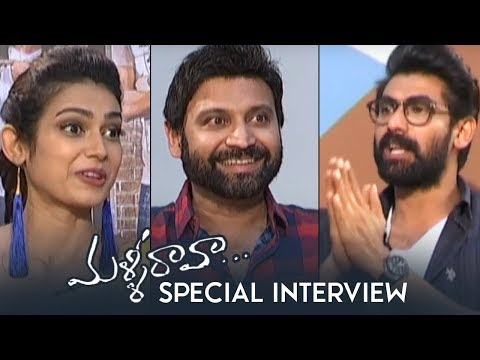 Malli Raava Team Special Interview By Rana Daggubati | Sumanth | Aakanksha | TFPC