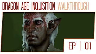 Dragon Age Inquisition Gameplay Walkthrough (60fps Cutscenes) - Part 1 - Character Creation