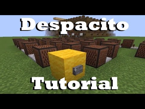 Despacito - Minecraft Note Block Doorbell Tutorial