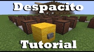 Despacito - Minecraft Note Block Doorbell Tutorial Video