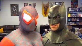 Ultimate Spider-Man VS Batman - Hardcore Fight! (Real Life Superhero Battle)
